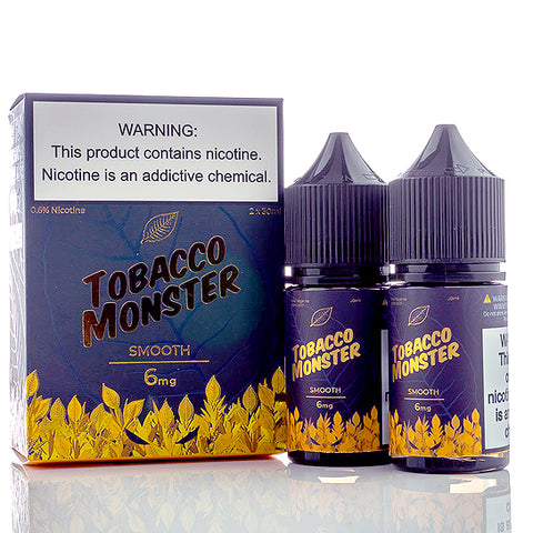 Smooth - Tobacco Monster E-Juice (60 ml)