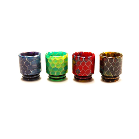 Snake Skin Resin Wide Bore Drip Tip - Swirl (For SMOK TFV8 & TFV12)