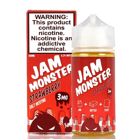 Strawberry Jam - Jam Monster E-Juice (100 ml)