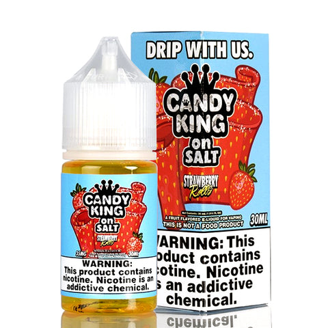 Strawberry Rolls on Salt - Candy King E-Juice
