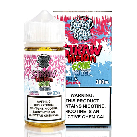 Strawmelon Sour on Ice - The Finest E-Juice (100 ml)