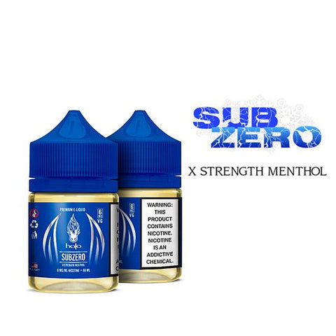 SubZero Menthol (High VG) - Halo E-Liquid
