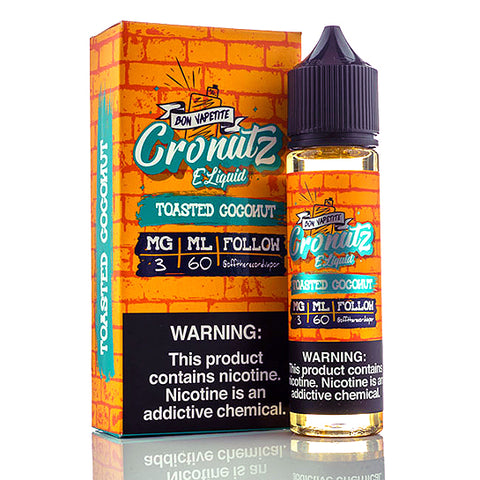 Toasted Coconut - Cronutz E-Juice (60 ml)