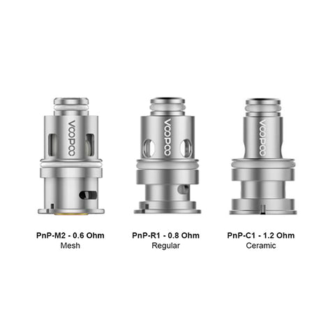 Genuine VooPoo™ PnP Replacement Coils (5 Pack)