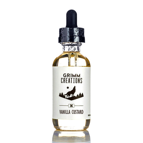 Vanilla Custard - Grimm Creations E-Juice (60 ml)