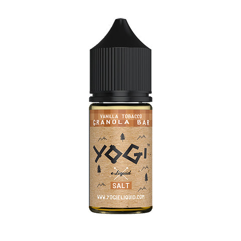 Vanilla Tobacco Granola Bar [Nic Salt Version] - Yogi E-Juice