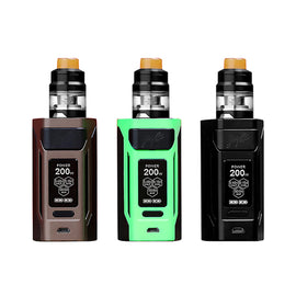 Genuine Wismec™ Reuleaux RX2 20700 TC Kit by Jay Bo Designs (w/ GNOME Tank)