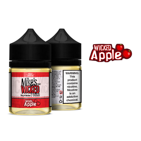Wicked Apple - Mike's Wicked E-Juice (60 ml)