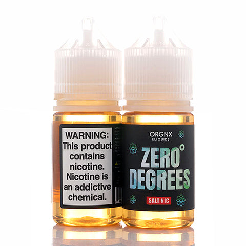 Zero Degrees Salt - ORGNX E-Juice