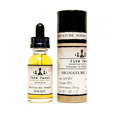 Gambit - Five Pawns E-Liquid