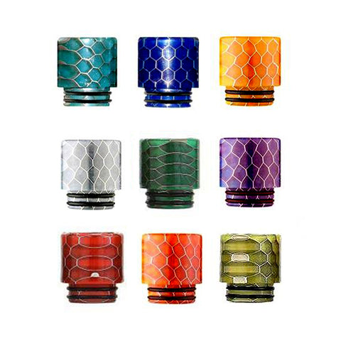 iJoy Snake Skin Resin Wide Bore Drip Tip (For Smok TFV8 & TFV12)