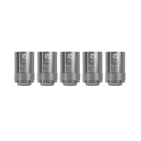 Genuine Joyetech™ Cubis / AIO (BF SS316) Atomizer Heads / Replacement Coils (5 Pack)