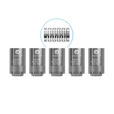 Genuine Joyetech™ NotchCoil (SS316) Atomizer Heads / Replacement Coils (5 Pack)
