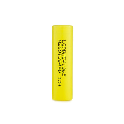 LG™ 18650 IMR 2500mAh 20A Flat Top Battery - HE4