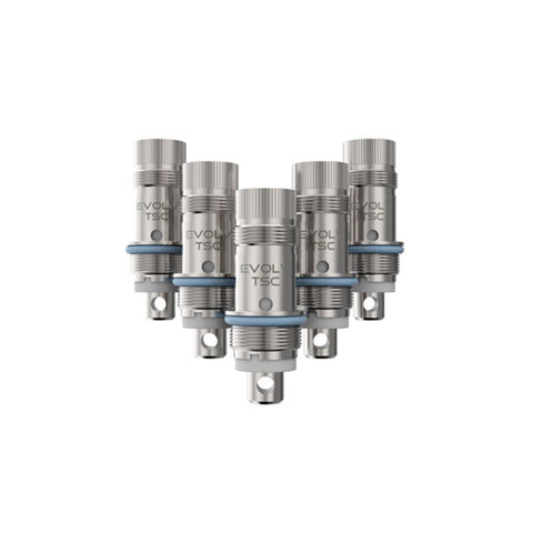 Genuine Aspire™ Nautilus Nickel Ni200 Replacement Atomizer Heads (5 Pack)