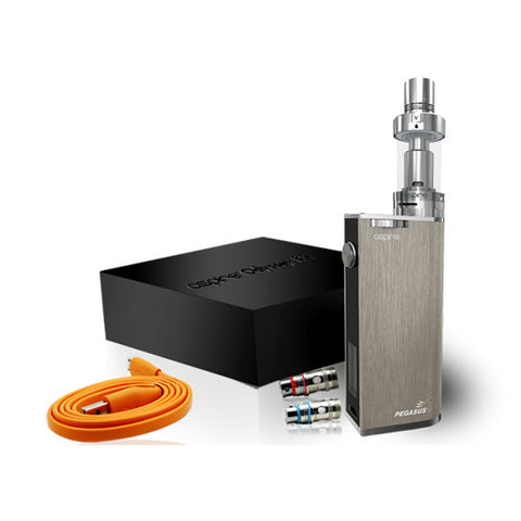 Genuine Aspire™ Odyssey Starter Kit (Triton 2 and Pegasus Box Mod)
