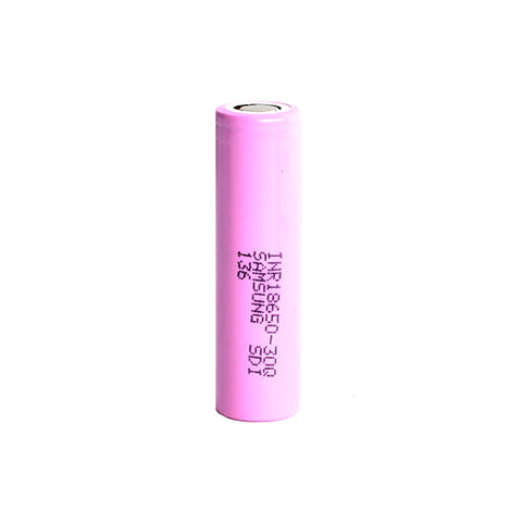 Samsung™ 30Q 18650 INR 3000mAh 15A Flat Top Battery