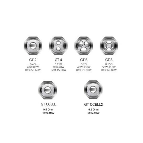 Genuine Vaporesso™ NRG GT Core Replacement Coils (3 Pack)