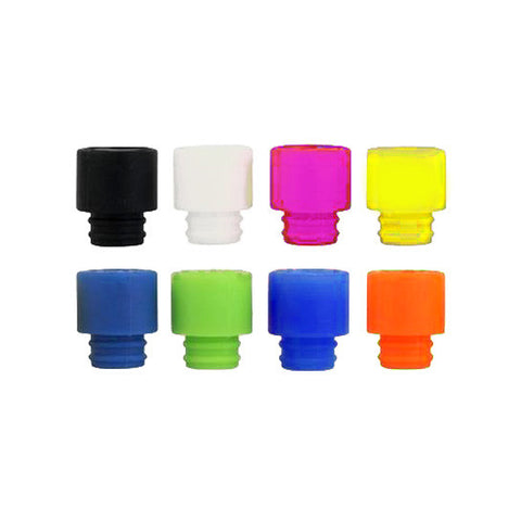 wide bore silicone rubber drip tips