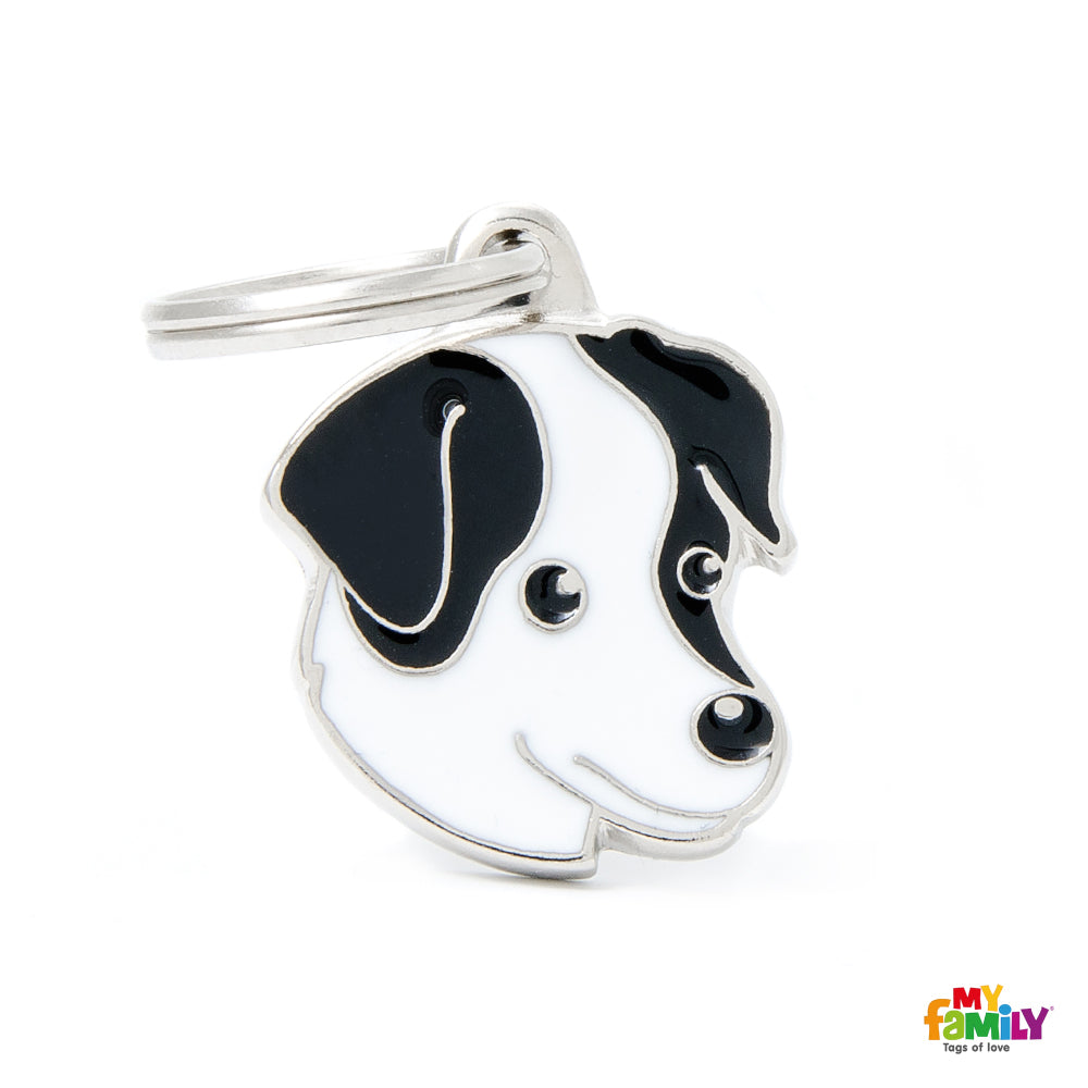 Pet ID Tag | Jack Russell + FREE Engraving