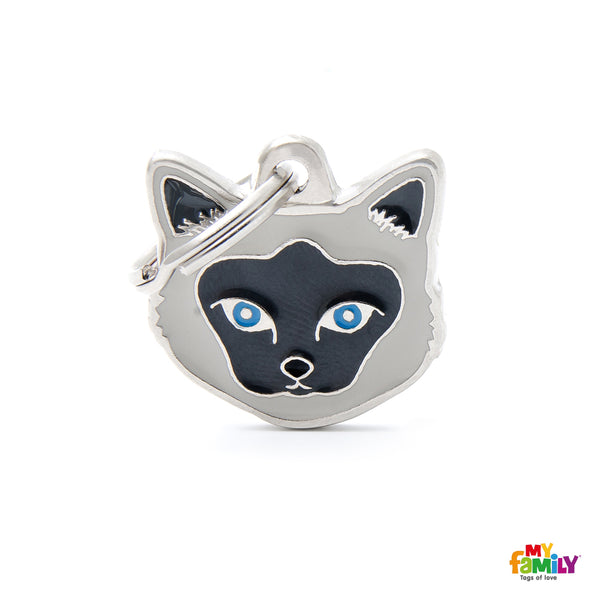 My Family Pet ID Tag | Birman Cat + FREE Engraving | Peticular