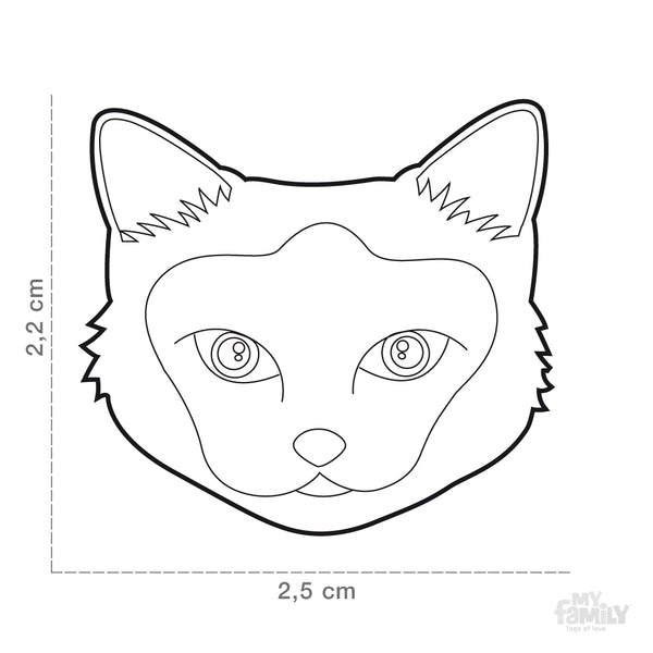 Pet ID Tag | Birman Cat + FREE Engraving