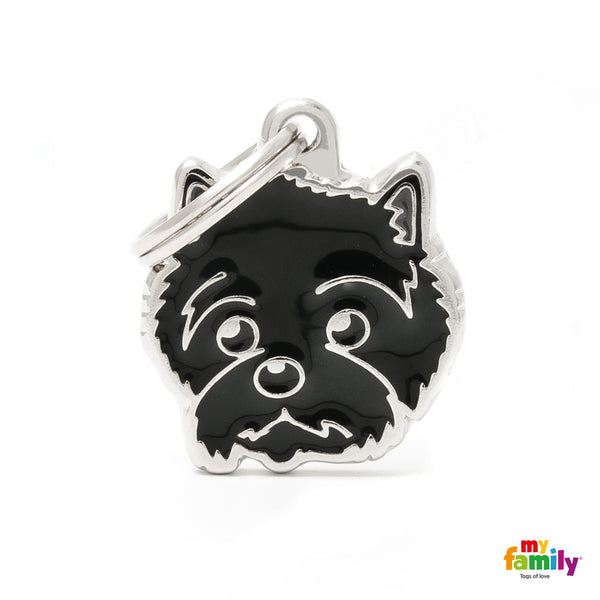 Pet ID Tag | Cairn Terrier + FREE Engraving