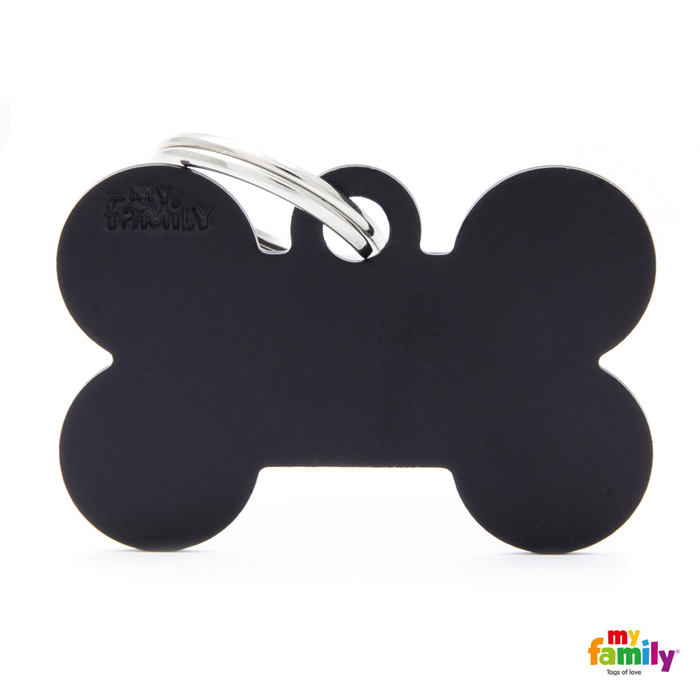 My Family Pet ID Tag | Basic Bone + FREE Engraving | Peticular