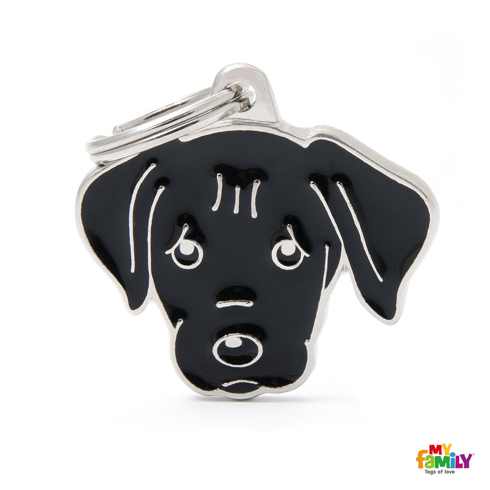My Family Pet ID Tag | Labrador + FREE Engraving | Peticular