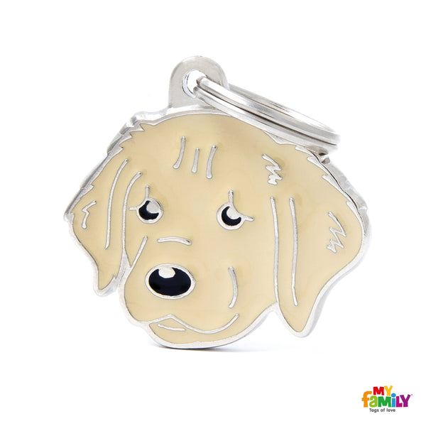 Pet ID Tag | Golden Retriever + FREE Engraving