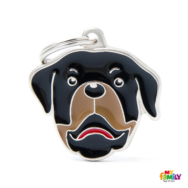 Pet ID Tag | Rottweiler + FREE Engraving