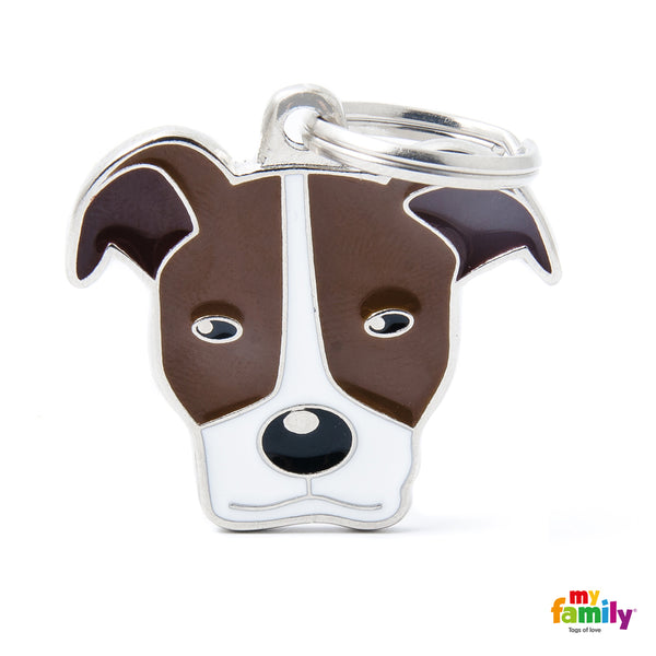 Pet ID Tag | Pitbull + FREE Engraving