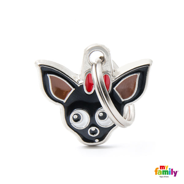 Pet ID Tag | Chihuahua + FREE Engraving