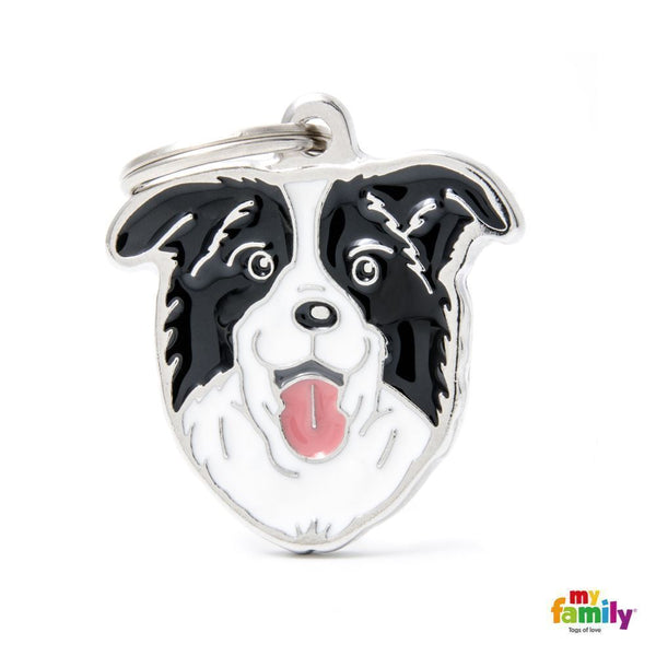 Pet ID Tag | Border Collie + FREE Engraving