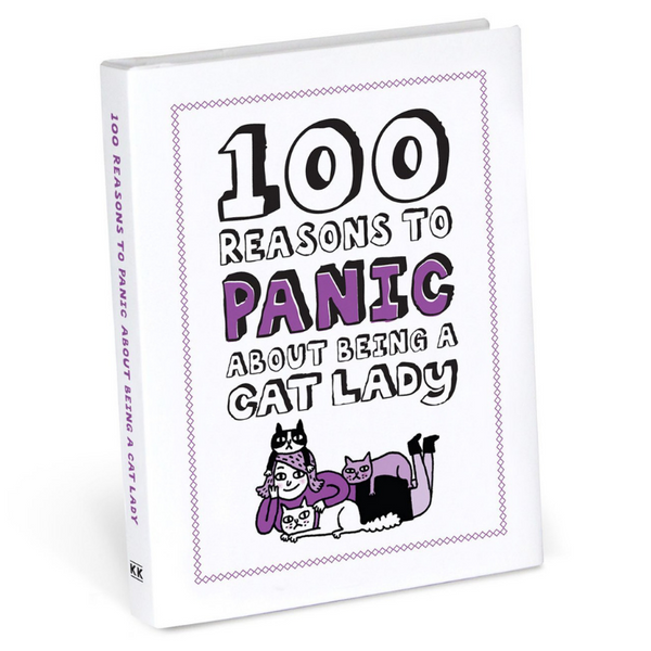 Independence Studios 100 Reasons To Panic About Being A Cat Lady | Peticular