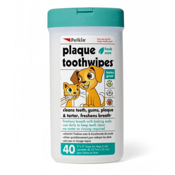 Petkin Pet Tooth Wipes | Peticular