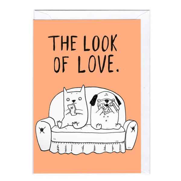 Bobangles Blank Card | Look Of Love | Peticular