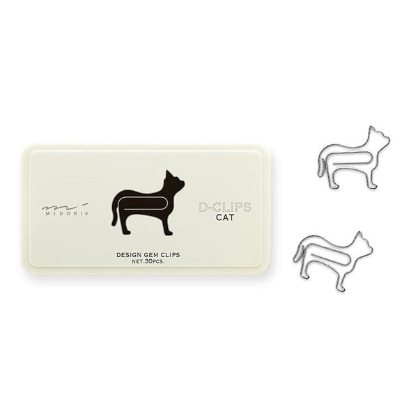 Living & Dining D-Clips Paper Clips | Cat | Peticular