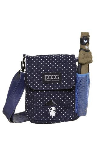 Walkie Bag | Polka Dot Blue & White - Peticular