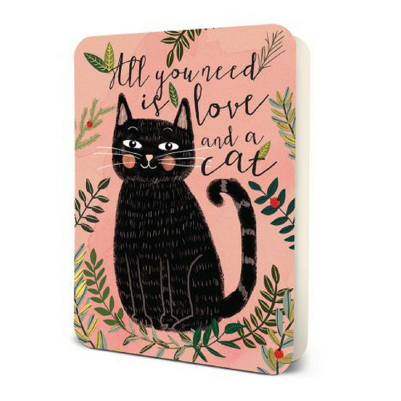 Bobangles Blank Card | All You Need Is A Cat | Peticular