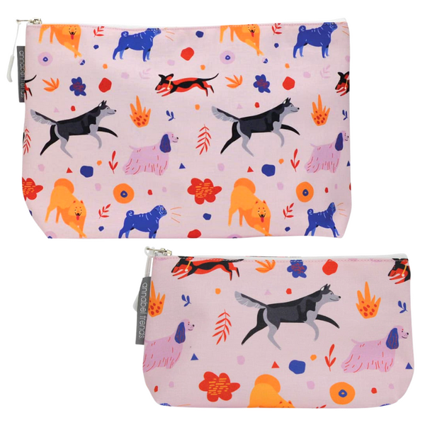 Cosmetics Bags | Retro Dog