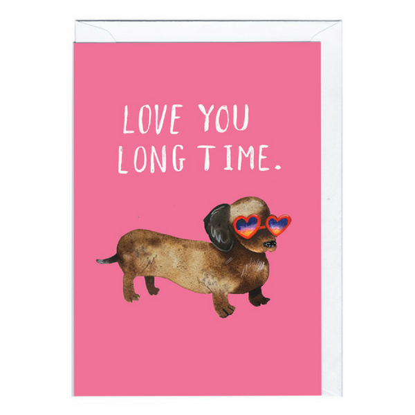 Blank Card | Long Time