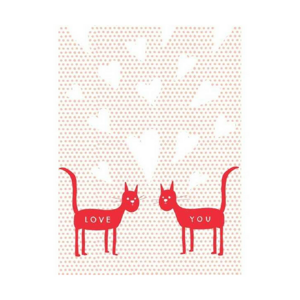 Blank Card | Love Cats