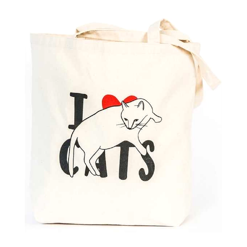 Vevoke Tote Bag | I Love Cats | Peticular