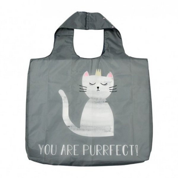 Annabel Trends Shopping Bag | Purrfect Cat | Peticular