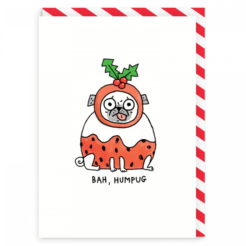 Vevoke Christmas Card | Bah Humpug | Peticular