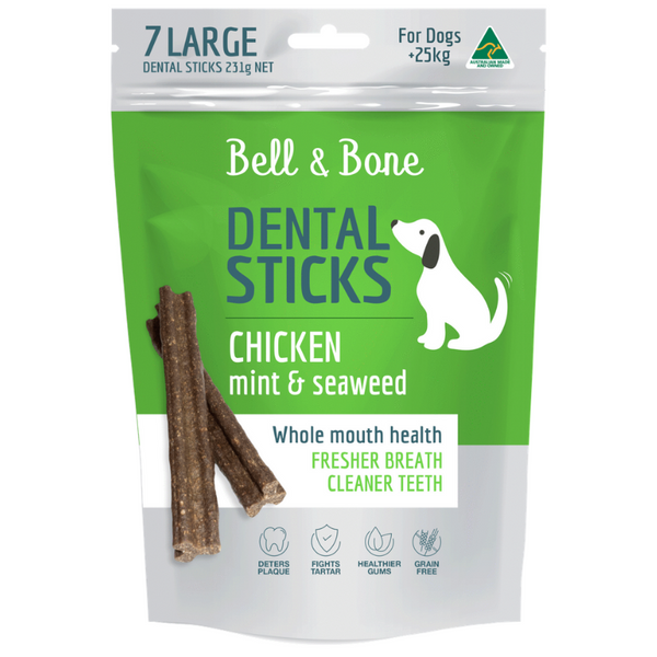 Chicken, Mint and Seaweed Dental Sticks