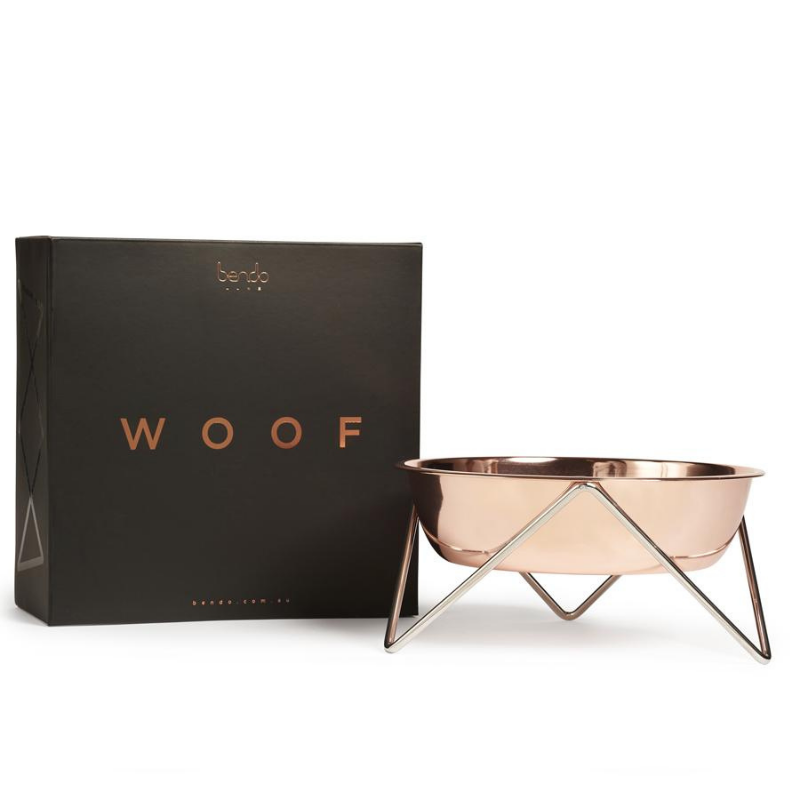 Woof Dog Bowl | Copper