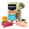 Black Hawk Grain Free Wet Cat Food | Chicken With Tuna & Ocean Fish | Peticular
