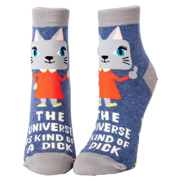Women's Socks | Universe Is Kind Of A Dick